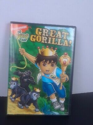 Go, Diego, Go - Great Gorilla (DVD, 2008) • 3.47£