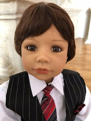 """Masterpiece Dolls Andy Brown Boy's Wig, Fits Up To An 18 12"""" Head • 22.23£"""