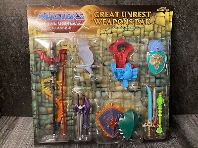 $19.99 • Buy Masters Of The Universe Classics Motuc Weapons Pak Great Unrest, 2012 Pack