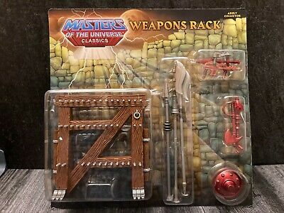 $19.99 • Buy Masters Of The Universe Classics Motuc Weapons Rack, Sealed, Moc