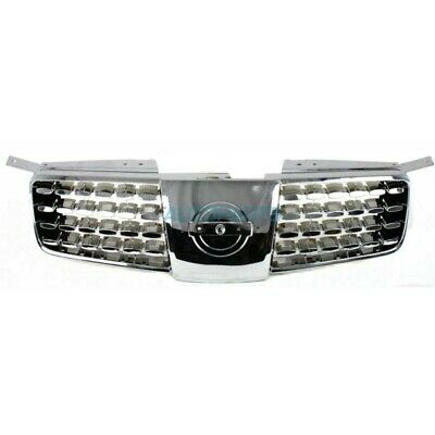 $63.95 • Buy NEW GRILLE CHROME SHELL FITS 2004-2006 NISSAN MAXIMA NI1200203 4-Door