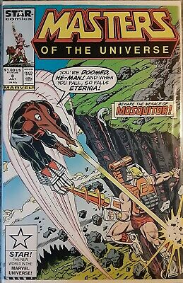 $18 • Buy He-Man & The Masters Of The Universe #8 High Grade Marvel Star Comics 1987