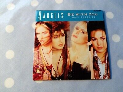 Bangles Be With You / In Your Room (Extended Remix) 3 Track Card Sleeve CD • 4.99£