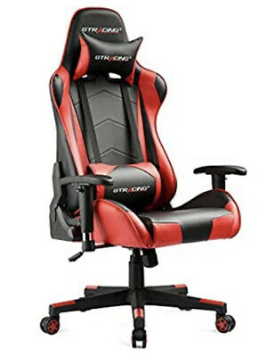AU389.36 • Buy GTRACING Gaming Chair Racing Office Computer Game Chair New