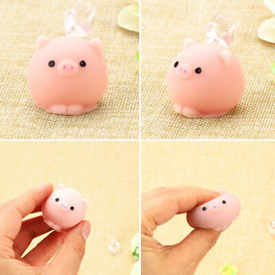 AU5.69 • Buy Soft Mochi Cute Pig Ball Squishy Squeeze Healing Stress Reliever Toy Gift Decor