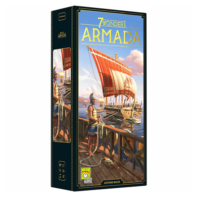 AU63.95 • Buy 7 Wonders New Edition Armada Expansion Board Game NEW