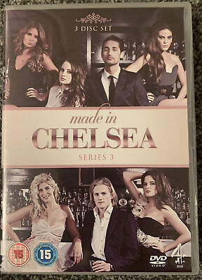 Made In Chelsea - Series 3 - Complete (DVD, 2012, 3-Disc Set) • 1.90£