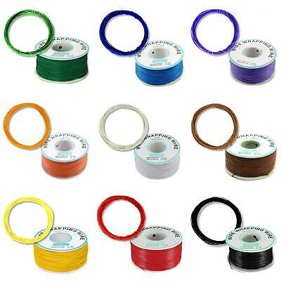 AU12.10 • Buy 0.25mm Copper Wire 30AWG OK Line 10 Colours 1-250M For  RPI Electronics
