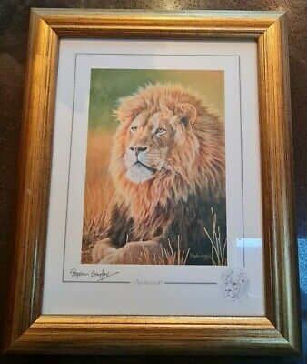 Stephen Gayford Print 'Aristocrat' Framed & Signed  • 850£