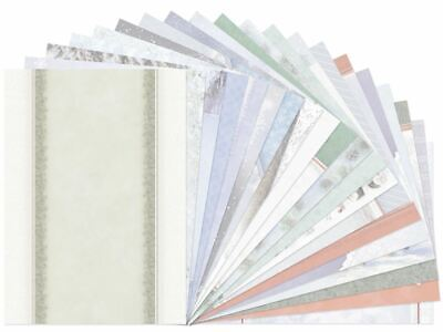 Hunkydory Luxury Inserts For Cards ~ *NEW* WINTER WISHES (20 Sheets) • 3.99£