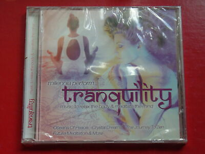CD MILLENIA - TRANQUILITY Electronic New Age 12 Tracks NEW & SEALED • 4.25£