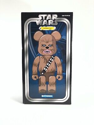 $200 • Buy BE@RBRICK 400% Rare CHEWBACCA Star Wars Medicom BearBrick Limited Action Figure