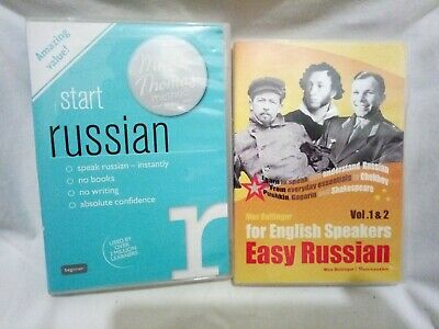 £9.99 • Buy Michel Thomas Start Russian & Easy Russian For English Speakers DVD (NN)