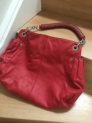 AU30.50 • Buy Oroton Red Leather Handbag