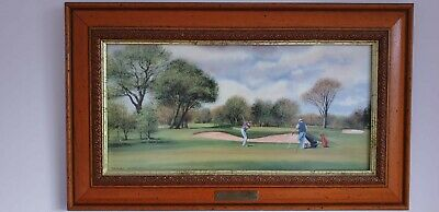 Terry Harrison 'Golf' Print • 3£