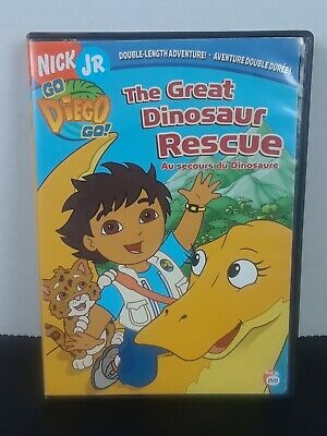 Go, Diego, Go - The Great Dinosaur Rescue (DVD, 2008, Canadian) • 4.63£