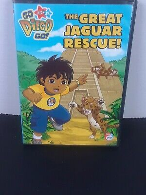 Go, Diego, Go - The Great Jaguar Rescue (DVD, 2008, Canadian) • 3.47£