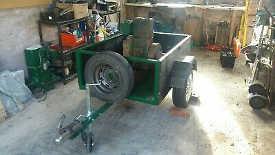 Lister D Engine Mounted On Road Trailer - Fully Working • 400£