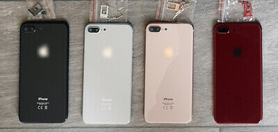 Apple IPhone 8 Plus Frame Back Chassis Housing Rear Glass Cover Replacement • 14.95£