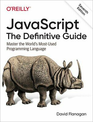 JavaScript - The Definitive Guide By David Flanagan 9781491952023 | Brand New • 33.99£