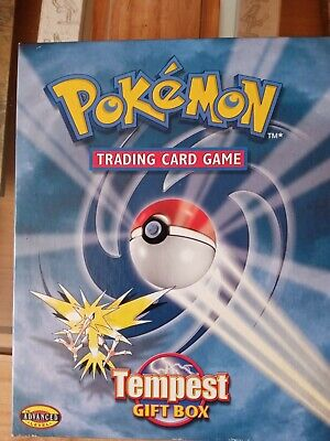 Pokemon Cards Trading Card Game Tempest Gift Box Advanced Level Good Condition • 5£