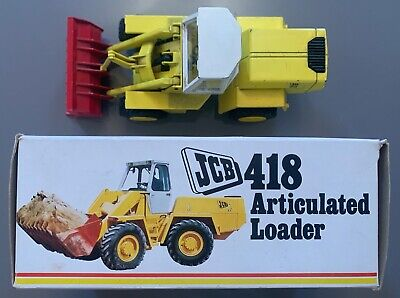JCB 418 ARTICULATED LOADER DieCast Model | NZG142 | 1:35 | Boxed Rare 70s  • 89.99£