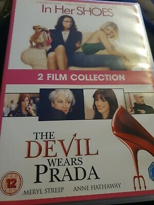 In Her Shoes + The Devil Wears Prada 2 Film DVD Streep Diaz DVD Movies • 2£
