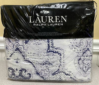 LAUREN Ralph Lauren LUNA Duvet Cover Set Full/Queen, NIP • 93.62£