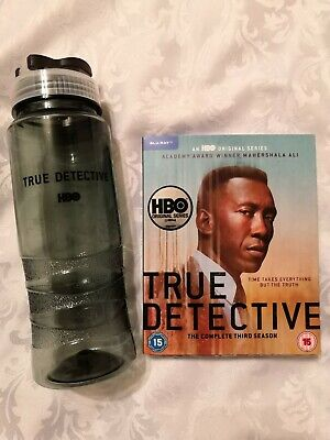 True Detective Season 3 Blu-ray With Collectable Drinks Bottle Brand New  • 12.99£