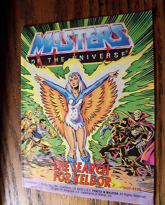 $10 • Buy  Masters Of The Universe  Mini Comic Book From The 80's {the Search For Keldor}