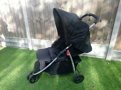 Babystart 3 Wheeler Pushchair Stroller With Raincover Slightly Used  • 30£