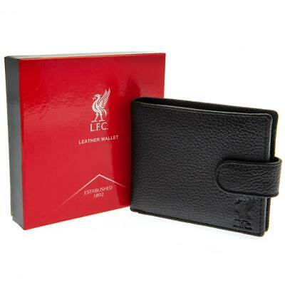 Liverpool FC Black Leather Wallet • 19.99£