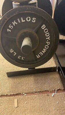 Bodypower Olympic Weights With Tree 145kg • 100£