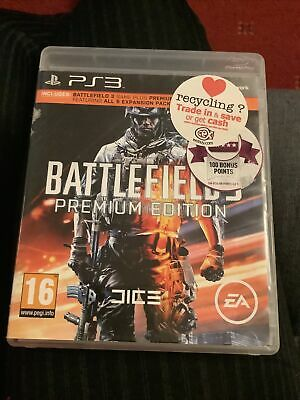£4.99 • Buy Battlefield 3 Premium Edition (PS3) - Game  GWVG The Cheap Fast Free Post