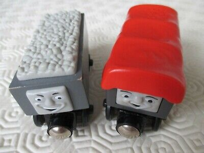 Wooden TROUBLESOME Wooden GIGGLING TRUCK For Thomas & Friends Wooden Train Track • 12£