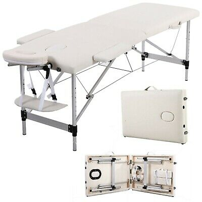 Lightweight Portable Folding Massage Table Tattoo Beauty Salon Therapy Couch Bed • 50£