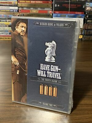 $14 • Buy Have Gun Will Travel The Fourth Season Volume Two 3 Disc DVD Set NEW