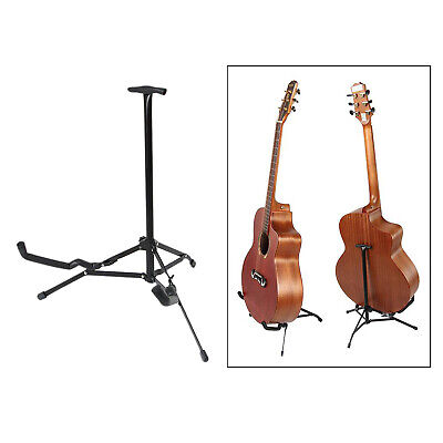 AU18.26 • Buy Heavy Duty Guitar Ukulele Floor Stand Tripod Holder For Bass Guitars Violin