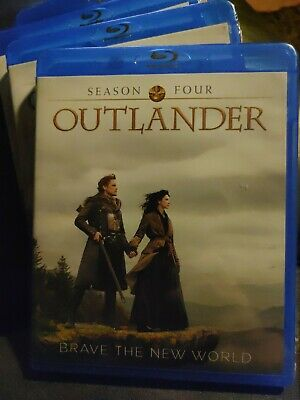 AU20.88 • Buy Outlander 4th Season Blu-ray Disc - New And Sealed