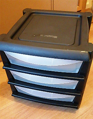 Paper STORAGE DRAWERS + Wheels. Home Office Filing Cabinet Unit. COLLECTION ONLY • 10£