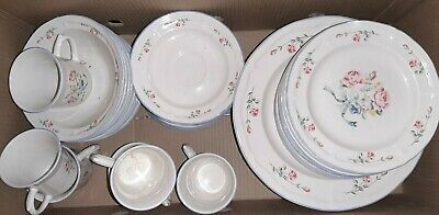 £115 • Buy Vintage Crown Dynasty Dinner Service Set For 8/  Immaculate Con. / Read  Please