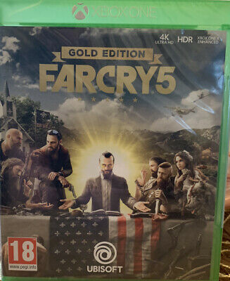 AU54.08 • Buy Farcry 5 Gold Edition Xbox One ⭐️Brand New & Sealed⭐️