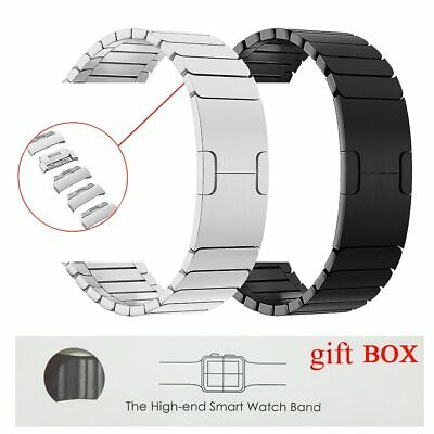$ CDN113.45 • Buy Stainless Steel Link Band Strap For Apple Watch Series 6 5 4 3...*Free Shipping*