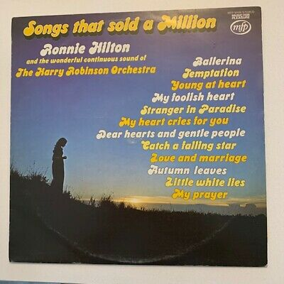 £4.99 • Buy  Ronnie Hilton – Songs That Sold A Million MFP50189 1975 12  LP Record