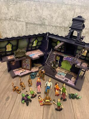 Scooby Doo Haunted Mansion And Characters Interactive • 10£