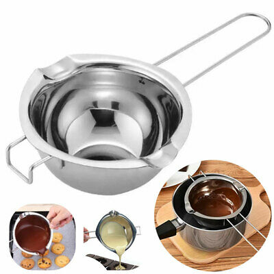 £5.88 • Buy Stainless Steel Wax Melting Pot Double Boiler DIY Wedding Scented Candle Durable