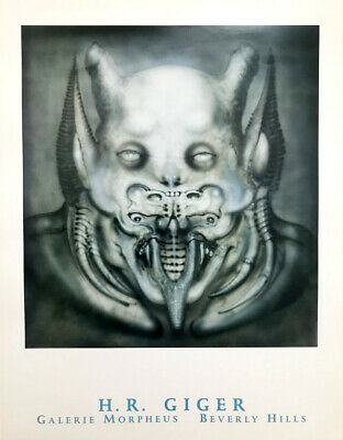 £25.49 • Buy 'Daemon' Rare H.R. Giger Exhibition Poster