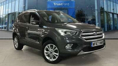 2017 Ford Kuga Titanium 1.5 Ecoboost AWD Auto ONE OWNER + FULL SERVICE HISTORY * • 15,685£