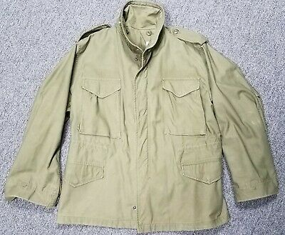 $120 • Buy Vintage 1975 M-65 Cold Weather Field Military Jacket Med Short Free Shipping!