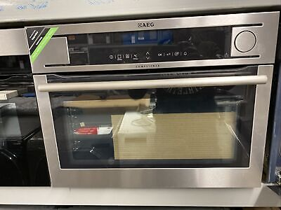 £446 • Buy AEG KS8404701M - Compact Built In Steam Combi Oven - Stainless Steel
